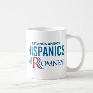 Hispanics for Romney Coffee Mugs
