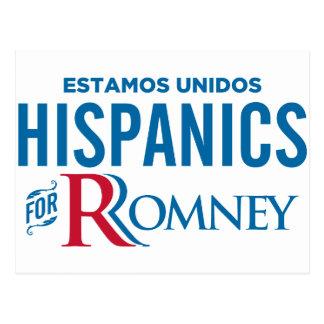 Hispanics for Romney Post Cards
