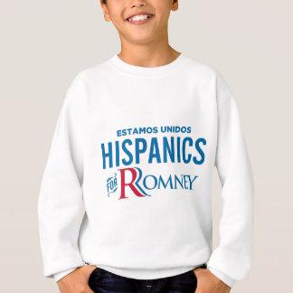 Hispanics for Romney Sweatshirt