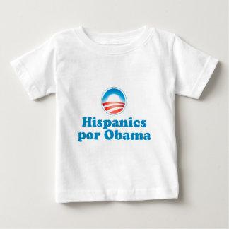 Hispanics por Obama Baby T-Shirt