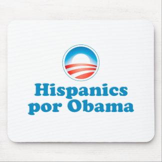 Hispanics por Obama Mouse Pad