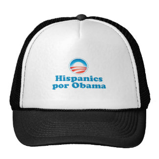 Hispanics por Obama Trucker Hat
