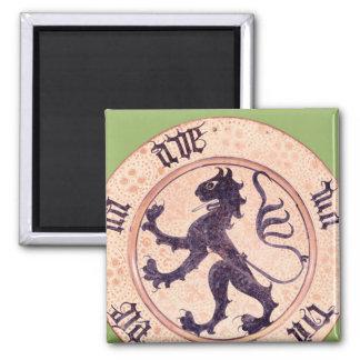 Hispano-Moresque dish, tin-glazed Magnet