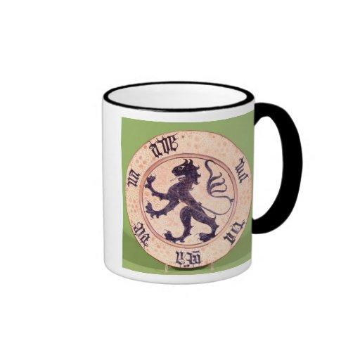 Hispano-Moresque dish, tin-glazed Coffee Mugs