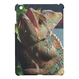 Hissing Hooded Chameleon iPad Mini Cover