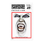 Hissing Vampire Postage Stamp