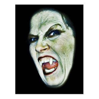 Hissing Vampire-(side view)- Postcard