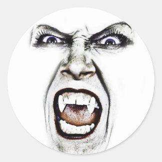 Hissing Vampire Sticker