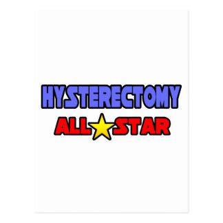 Histerectomia All Star Tarjetas Postales