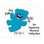 Histérico, oso de ManiacalTeddy Postal