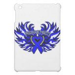 Histiocytosis Awareness Heart Wings iPad Mini Case