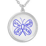 Histiocytosis Butterfly Inspiring Words Necklace
