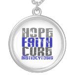 Histiocytosis de la curación de fe de la esperanza pendientes personalizados