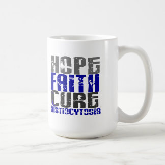 Histiocytosis de la curación de fe de la esperanza taza básica blanca