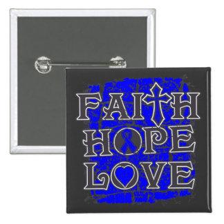 Histiocytosis Faith Hope Love Pinback Buttons