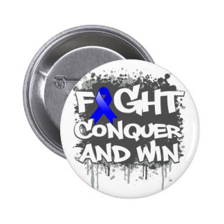Histiocytosis Fight Conquer and Win Pinback Button