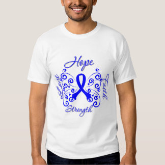 Histiocytosis Hope Motto Butterfly Tee Shirts
