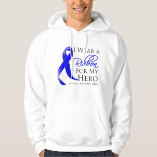 Histiocytosis I Wear a Ribbon For My Hero Hooded Pullover