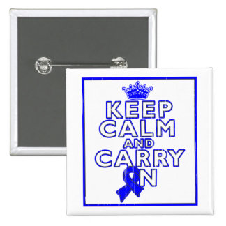 Histiocytosis Keep Calm and Carry ON Buttons