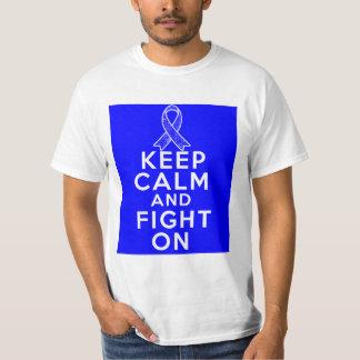 Histiocytosis Keep Calm and Fight On Tee Shirt