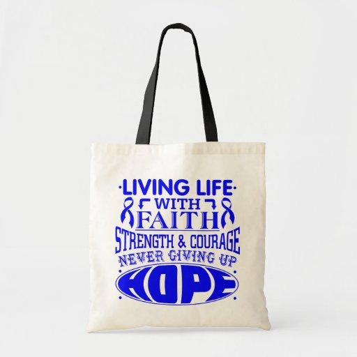 Histiocytosis Living Life with Faith Bag