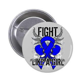 Histiocytosis Ultra Fight Like A Girl Pin