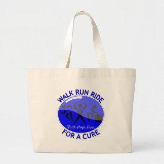 Histiocytosis Walk Run Ride For A Cure Canvas Bag