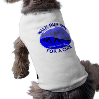Histiocytosis Walk Run Ride For A Cure Pet Tshirt