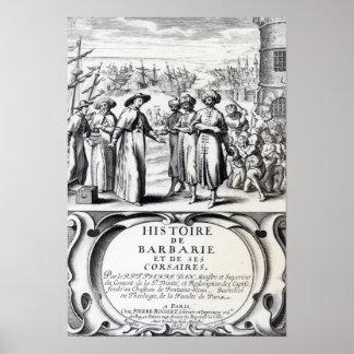 Histoire de Barbarie et de ses Corsaires Poster