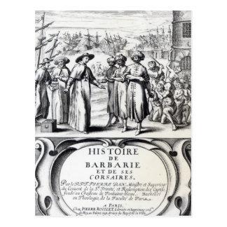 Histoire de Barbarie y de ses Corsaires Tarjeta Postal