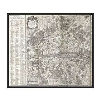 Histoire de la Ville de París de D Miguel Feliben Lienzo Envuelto Para Galerias