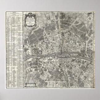 Histoire de la Ville de París de D Miguel Feliben Póster