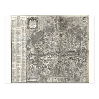 Histoire de la Ville de París de D Miguel Feliben Tarjeta Postal