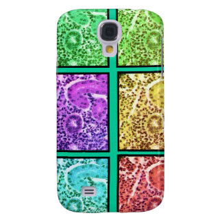 Histologist Gifts Magnified Cells Design Samsung Galaxy S4 Cases