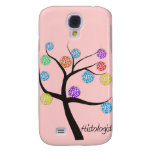 Histologist Tree Design Microscopic Cell Leaves Galaxy S4 Cover