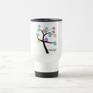 Histologist Tree Design Microscopic Cell Leaves Travel Mug