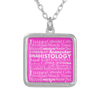 Histology Pendant With Histology Terminology