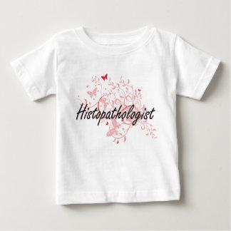 Histopathologist Artistic Job Design with Butterfl T-shirt
