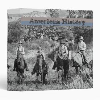 Historia americana del oeste