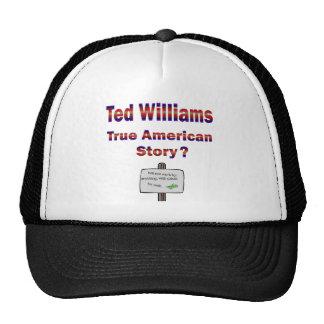 Historia americana verdadera de Ted Williams Gorro De Camionero