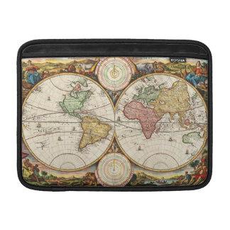 Historia antigua de los hemisferios antiguos del funda  MacBook