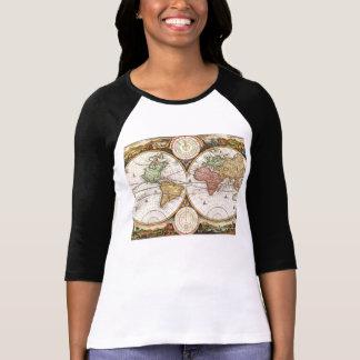 Historia antigua de los hemisferios antiguos del m camisetas