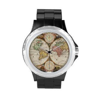 Historia antigua de los hemisferios antiguos del reloj