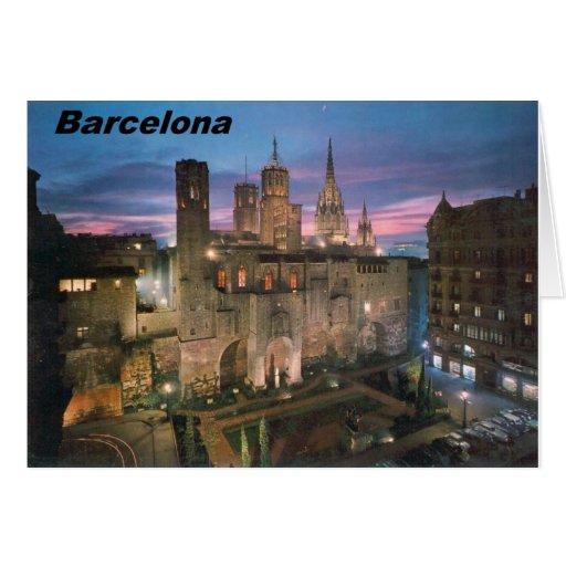 historia --barcelona--barrio--gotico  Angie Cards