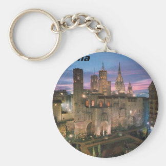 historia --barcelona--barrio--gotico  Angie Key Chain