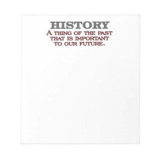 Historia Libretas Para Notas