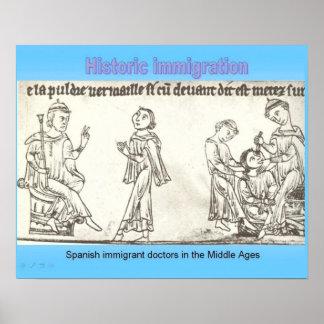 Historia, ciudadanía, inmigración histórica posters