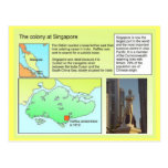 Historia, colonia en Singapur Postal