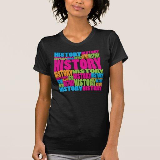 Historia colorida camiseta