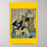 Historia de amor absurda por Utagawa, Yoshitoyo Uk Poster